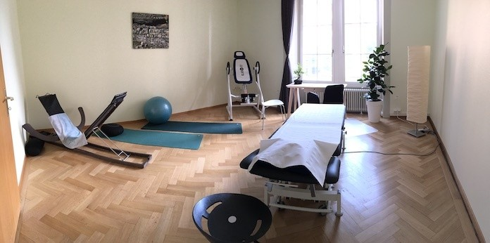 Salle ostéopathie au Centre ChrioSphere à Neuchâtel