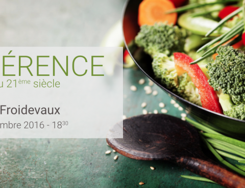 conférence de nutrition au centre chirosphere à Neuchâtel