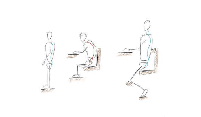 3 astuces pour une meilleure position assise