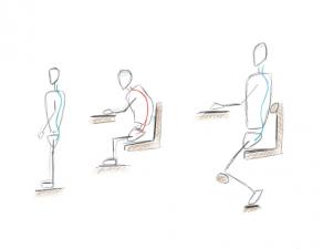 3 astuces pour une meilleure position assise - Chirosphere Neuchâtel