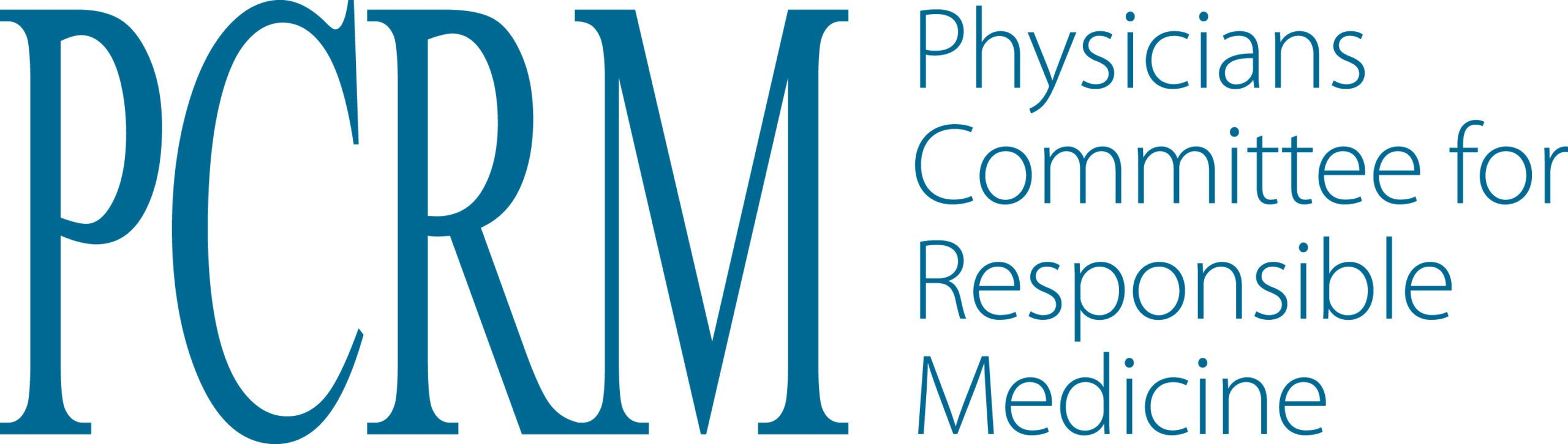 Logo PCRM Physicians Committee for Responsible Medicine