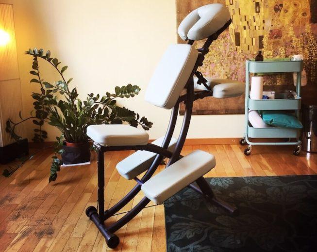 Les bienfaits du massage assis - centre Chirosphere Neuchâtel